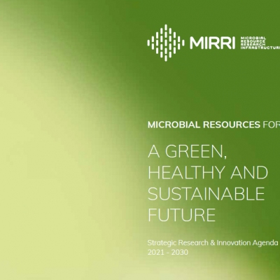 MIRRI's Strategic Research Innovation Agenda 2021 - 2030.