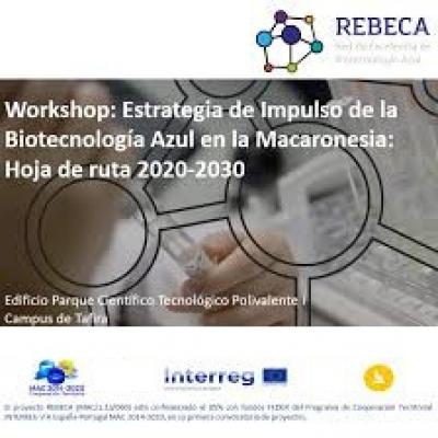 """Nueva fecha para Workshop """"Estrategia de Impulso de la Biotecnología Azul en la Macaronesia: Hoja de ruta 2020-2030"""""""