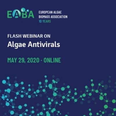 El Banco Español de Algas presente en el Webinar organizado por la EABA sobre Antivíricos procedentes de las algas
