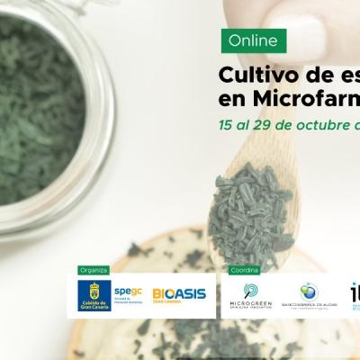 """REBECA organiza el Curso """"Espirulina en Microfarms"""""""
